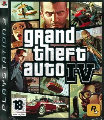 【二手遊戲】PS3 俠盜獵車手4 GRAND THEFT AUTO GTA IV 英文版 附地圖 台中恐龍電玩