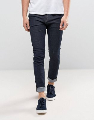 Cheap Monday Tight Skinny Jeans in Real Blue深藍色窄管牛仔褲