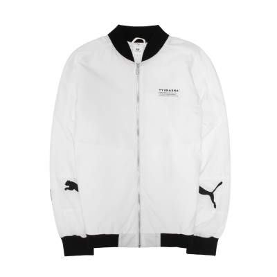 POMELO柚 PUMA TYAKASHA系列 立領外套 塗鴉 白色 男款 595563-02