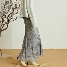 FRAY.ID 專櫃正品 蕾絲刺繡半身裙