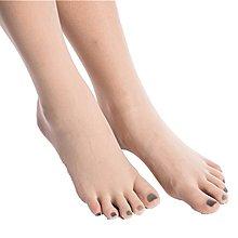 TT日韓新品店全身透明五指絲襪女連身衣360無痕性感3D萊卡連身衣分手指五趾襪