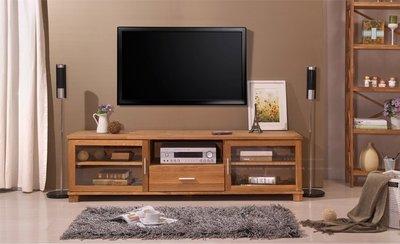 INPHIC-歐美鄉村田園外銷歐洲實木橡木電視櫃原野