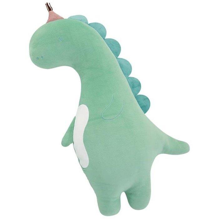 恐龍玩偶長條抱枕公仔抱著睡覺娃娃毛絨玩具可愛女生生日禮物女孩