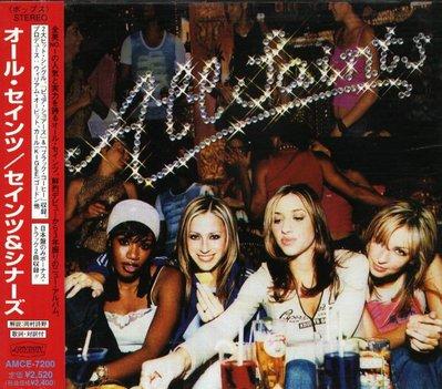 八八 - All Saints - Saints And Sinners - 日版 CD+2BONUS