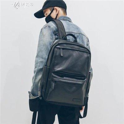 【蘑菇小隊】潮男雙肩包男士商務背包旅行防雨百搭ifashion電腦書包-MG27643