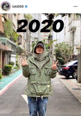 MADNESS DENIM ANORAK PARKA ARMY 衝鋒帽夾外套 軍綠 水洗破壞 日本製 現貨在店