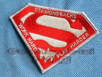 Work Hard Play Harder!美國VFA-102響尾蛇/Diamondback超人徽章