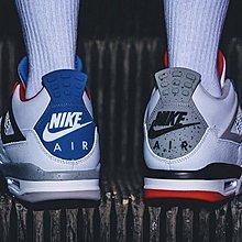 "Air Jordan 4"" What The""白藍紅 鴛鴦 時尚 短筒 籃球鞋 CI1184-146 男鞋"