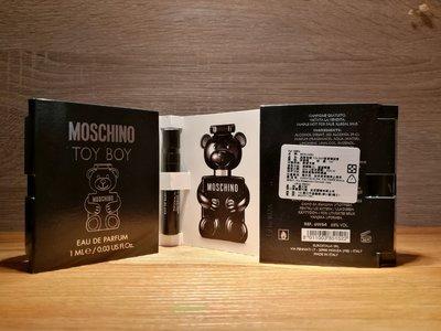 ❥戀香水➻Moschino Toy Boy 黑熊 男性淡香精 1ml