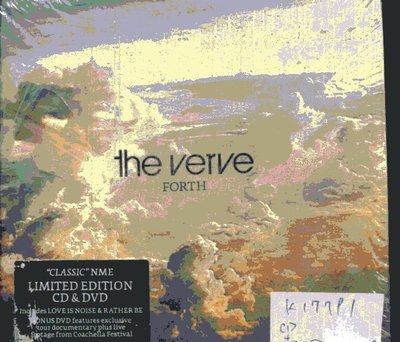 *真音樂* THE VERVE / FORTH CD+DVD 全新 K17791