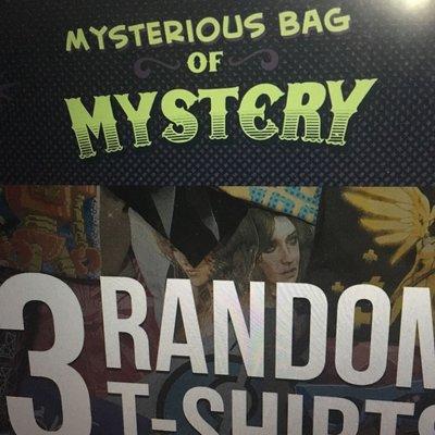 MYSTERIOUS BAG OF MYSTERY WOMEN'S 神秘女T 3件組 jinx j!nx
