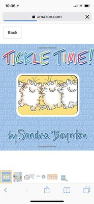 英文繪本 tickle to time by Sandra Boynton