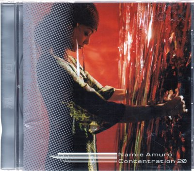 倫的二手原版珍藏CD 安室奈美惠 namie amuro Concentration 20