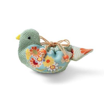 日式縐布小物隨身小提袋 材料組 青鳥❤EZ樂活手作❤