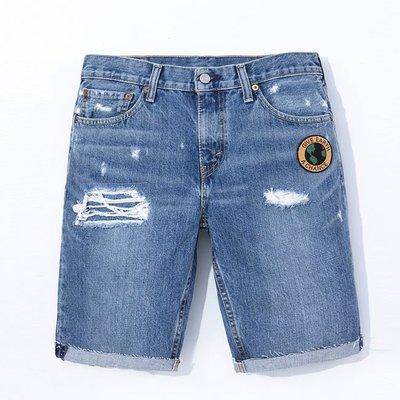 【日貨代購CITY】2016SS 日版 LEVIS 511 牛仔 短褲 小破壞 補丁 貼布 36555-0169 現貨