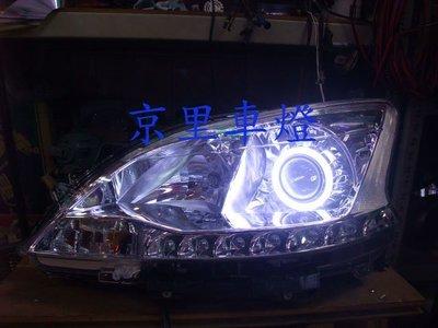 京里車燈專網 日產 NISSAN SUPER SENTRA 代改 光圈 魚眼 淚眼 冷光條 大燈