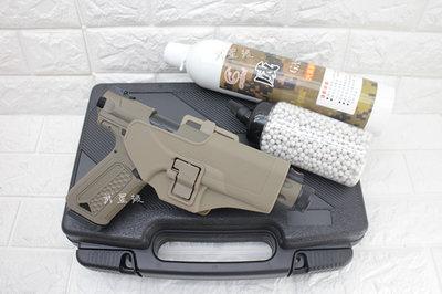 台南 武星級 Action Army AAP-01 瓦斯槍 沙+12KG 瓦斯+0.2g BB彈+槍套+槍盒