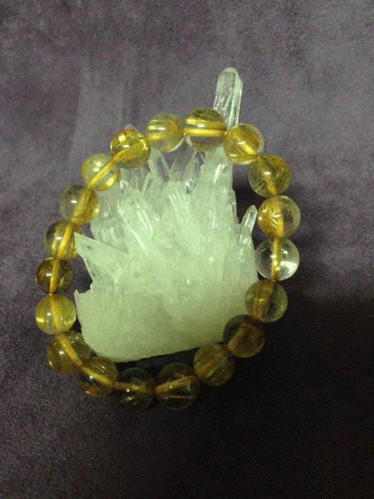 (水晶) 鈦晶 手環