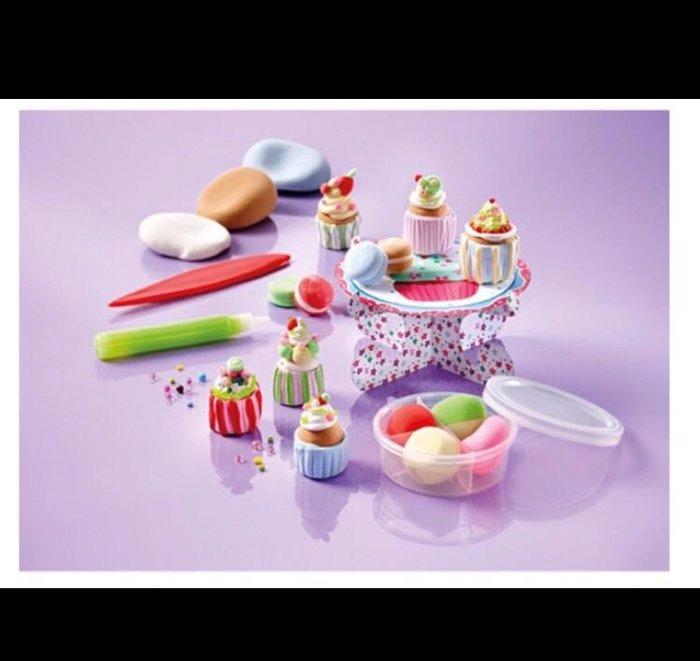Totum-DIY工廠-杯子蛋糕提盒(輕黏土)