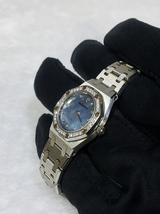 *旺角名店* AP 艾彼 鉑金 皇家橡樹 Royal Oak 原鑲鑽圈 石英錶 可刷卡 分期 PP錶