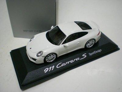 大衛拍賣網 MINICHAMPS 1/43 PORSCHE 911 Carrera S - Sport Design (Type 991)