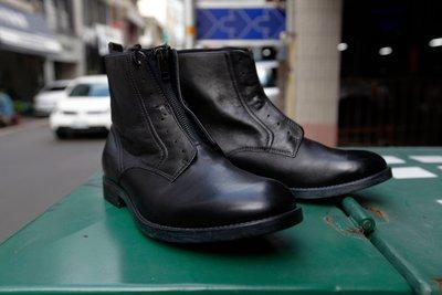 DIESEL SERBERHUS D-DOKEY NEO - boot 義大利製 牛皮 真皮 潛水布 拉鍊靴 靴