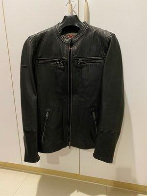 出售 極度乾燥 Superdry Real Hero Biker Leather 皮衣 XS