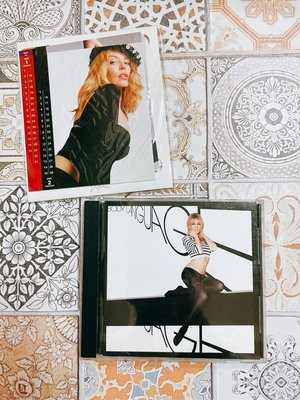 Kylie 凱莉米洛 BODY LANGUAGE 身體會說話 贈絕版單曲 Red Blooded Woman 進口版