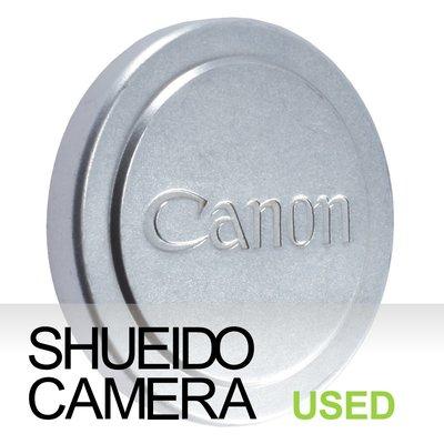 集英堂写真機【1個月保固】中古美品 / CANON 42mm 原廠金屬鏡頭前蓋 LEICA L39 #8 16360