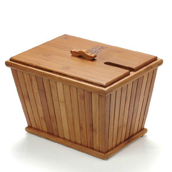 5Cgo【茗道】含稅會員有優惠 40831947809 功夫茶具茶盤零配件孟宗竹制茶水桶茶渣桶蓄水桶茶桶塑料內膽木製茶桶