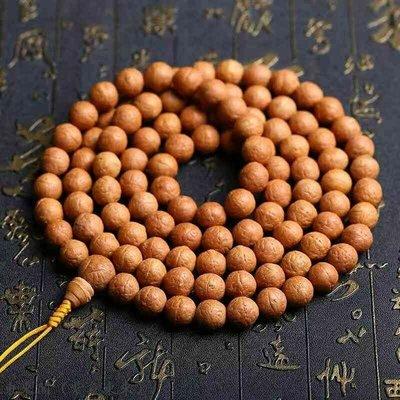 東來閣(紫氣東來)尼泊爾小鳳眼菩提108顆佛珠手串正眼菩提沉水念珠車掛12.5mm ﹝DLG7154﹞
