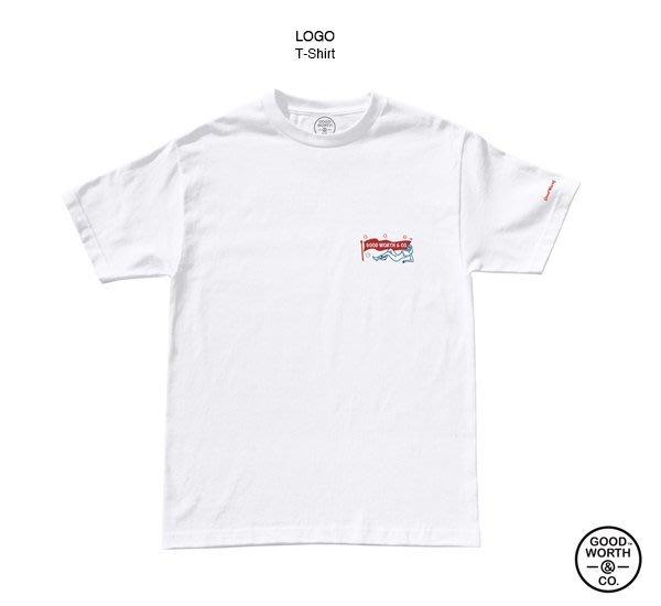 GOODFORIT / 美國飾品專門品牌Good Worth品牌經典仕女LOGO T-Shirt(SM)
