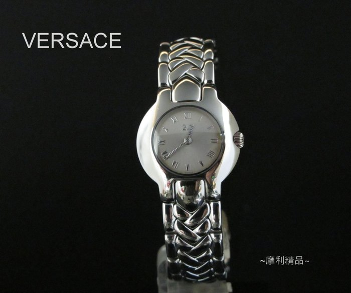 【摩利精品】Versace 凡賽斯限量女錶   *真品* 低價特賣中