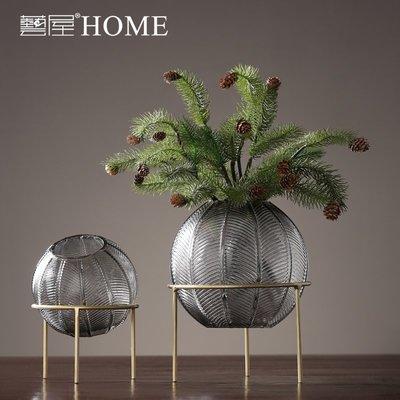 〖洋碼頭〗現代北歐家居客廳餐廳軟裝飾品創意玻璃花瓶透明插花花器輕奢擺件 ywj628
