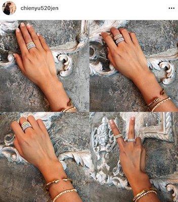 韓版類似APM MONACO單齒輪狀鑽石戒指-水鑽鋯石超級亮可多款搭著戴-網美佈落客必備必買-比小香香雙CHANEL好看 台北市