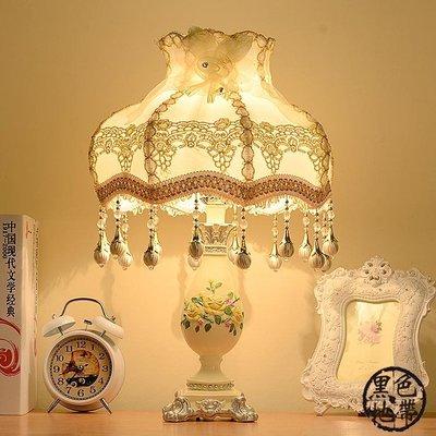 床頭燈 歐式現代簡約結婚慶臥室床頭燈調光創意時尚
