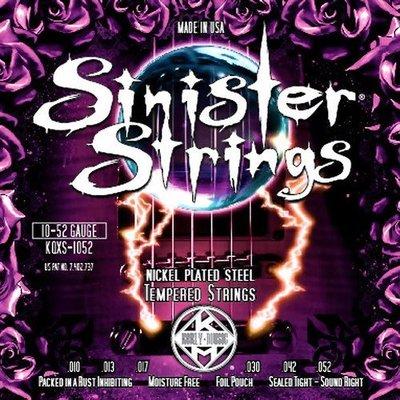 ☆ 唐尼樂器︵☆ Kerly Sinister 系列冰火弦 KQXS-1052 (10-52) 美製電吉他弦