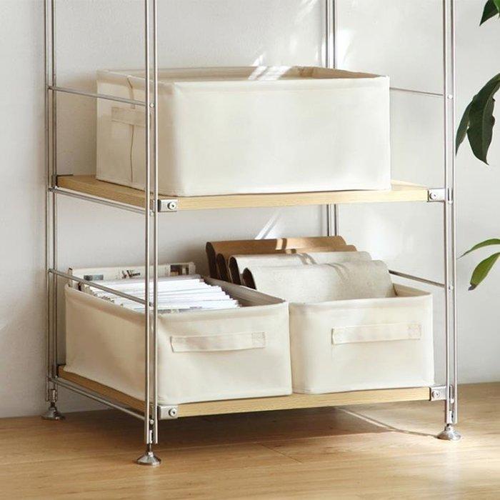 999牛津布藝收納籃日式家用儲物筐臥室玩具衣柜整理箱子6612011NB29