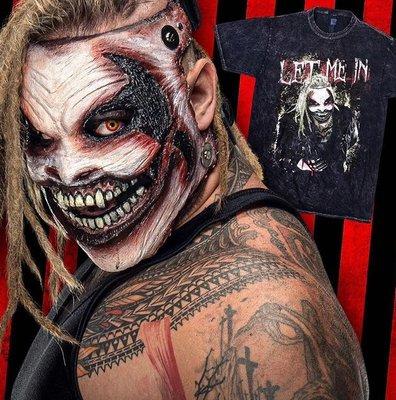 [美國瘋潮]正版WWE Bray Wyatt Let Me In Mineral Wash Tee詭異家族水洗刷色款衣服