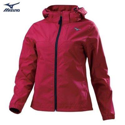 美津濃 MIZUNO 外套 連帽外套 防風外套 32TE978363 (磚紅) 夾克 M-2XL