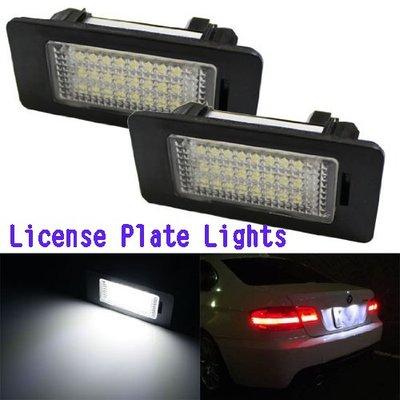 汽車牌照燈 車牌燈 LED BMW F30 F10 E39 X1 E82 E90 E92 E60 E61 License