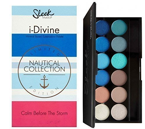 【愛來客】英國sleek 彩妝夏季限量版12色眼影nautical  collection航海系列限量版眼影盤