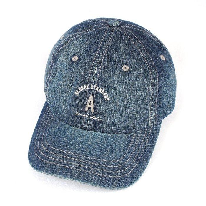 ☆二鹿帽飾☆ (A)韓版立體水洗球帽/流行棒球帽/休閒帽最新帽款/帽簷 7cm-深藍