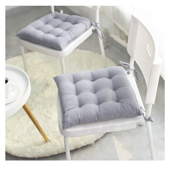 無印風純色坐椅墊 家用簡約加厚榻榻米坐墊_☆[好裝飾_SoGoods優購好]☆