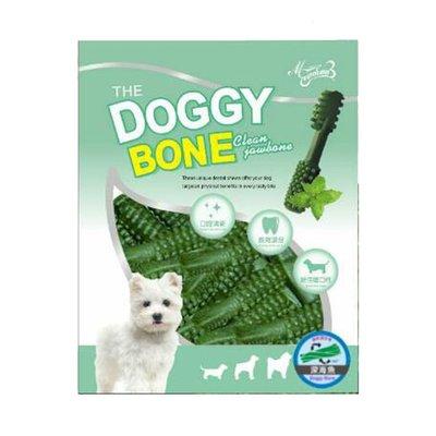 呆萌獸大安森林店 DOGGY BONE 多奇棒 深海魚口味 潔牙骨 XS號5cm/S號7cm 360g 狗點心 狗零食