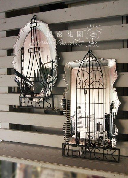 壁飾--紐約倫敦巴黎鐵塔鐵製/牆飾/掛飾
