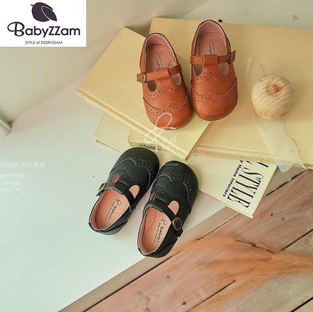 『※妳好,可愛※』妳好可愛韓國童鞋 BABYZZAM~正韓 英倫風時尚大頭鞋 童鞋 韓國童鞋