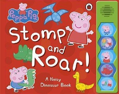 *小P書樂園* Peppa Pig: Stomp and Roar!
