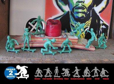 { POISON } ORIGINAL AJ'S TOY BOARDERS SKATE2 滑板玩具小兵 美國進口懷舊玩具 屏東縣