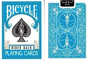 【USPCC撲克】Bicycle-Poker deck-2014(水藍)Turquoise back